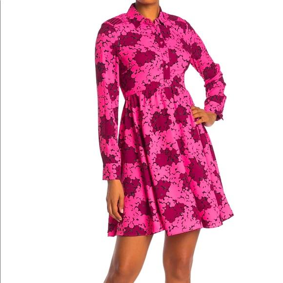 BNWT Kate Spade Bubble Dot Smocked Dress